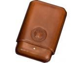 Чехол Dunhill  PA3013B Bulldog Cigar Case Robusto Brown(3F)