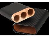 Чехол для трех сигар Black Label 3 Finger Cigar Case