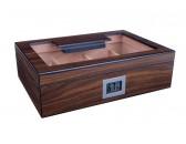 Хьюмидор Lubinski на 40 сигар cо стеклом и магнитными перегородками, Орех