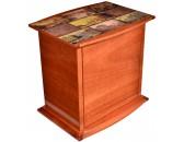 Хьюмидор-шкаф Mastro de Paja Рим Красное дерево 50