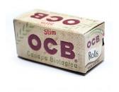 Сигаретная бумага OCB Rolls Organic в рулонах 24 шт. (44мм х 4000мм)