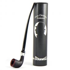 Трубка Stanwell H.C.Andersen III black sandblast 9mm