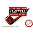 Фильтры для трубок угольные Stanwell 200шт.