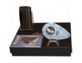 Подарочный набор Каттер и зажигалка Xikar 915 Executive Titanium / Xi1 GunMetal