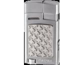 Зажигалка Xikar 524 SLH Forte Silver Houndstooth